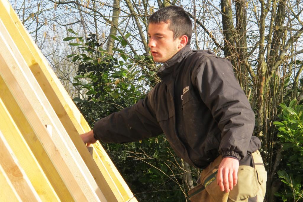 Benjamin, apprenti charpentier