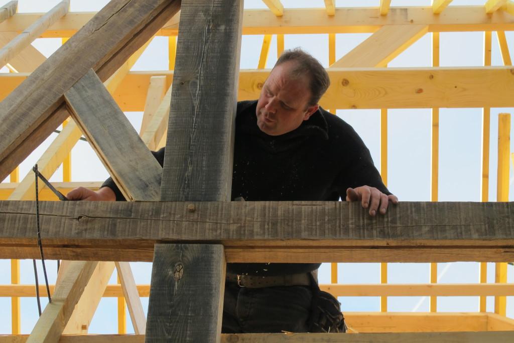 David, charpentier