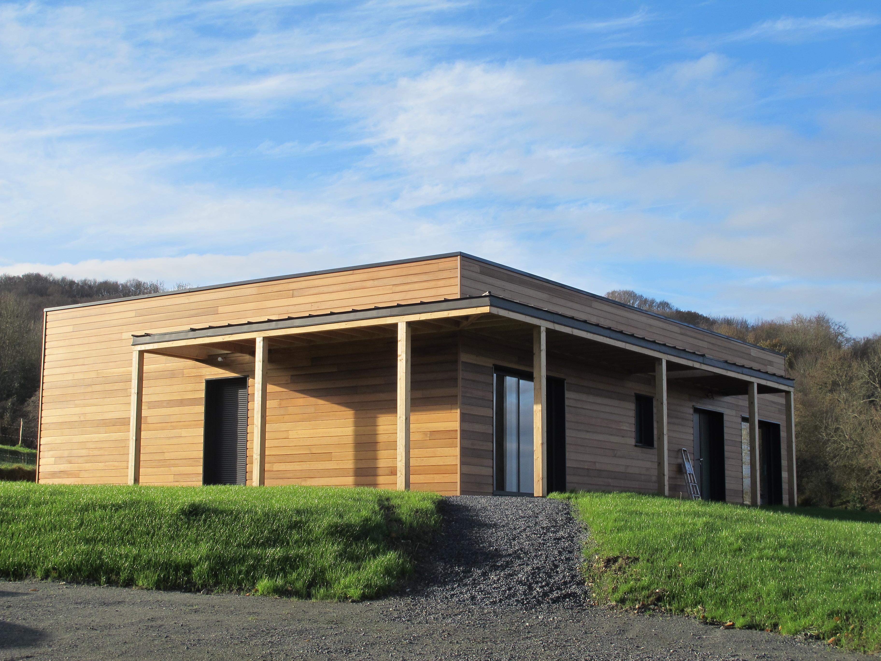 Maison Ossature Bois Design. Excellent En Le Groupe Ftera ...